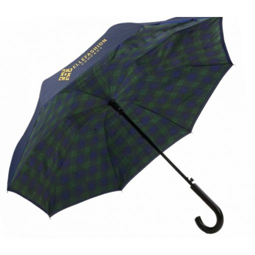 Unbelievabrella™ Crook Handle Auto Open Fashion Print Umbrella